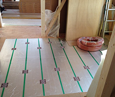 床暖房施工 東京ガスTES
